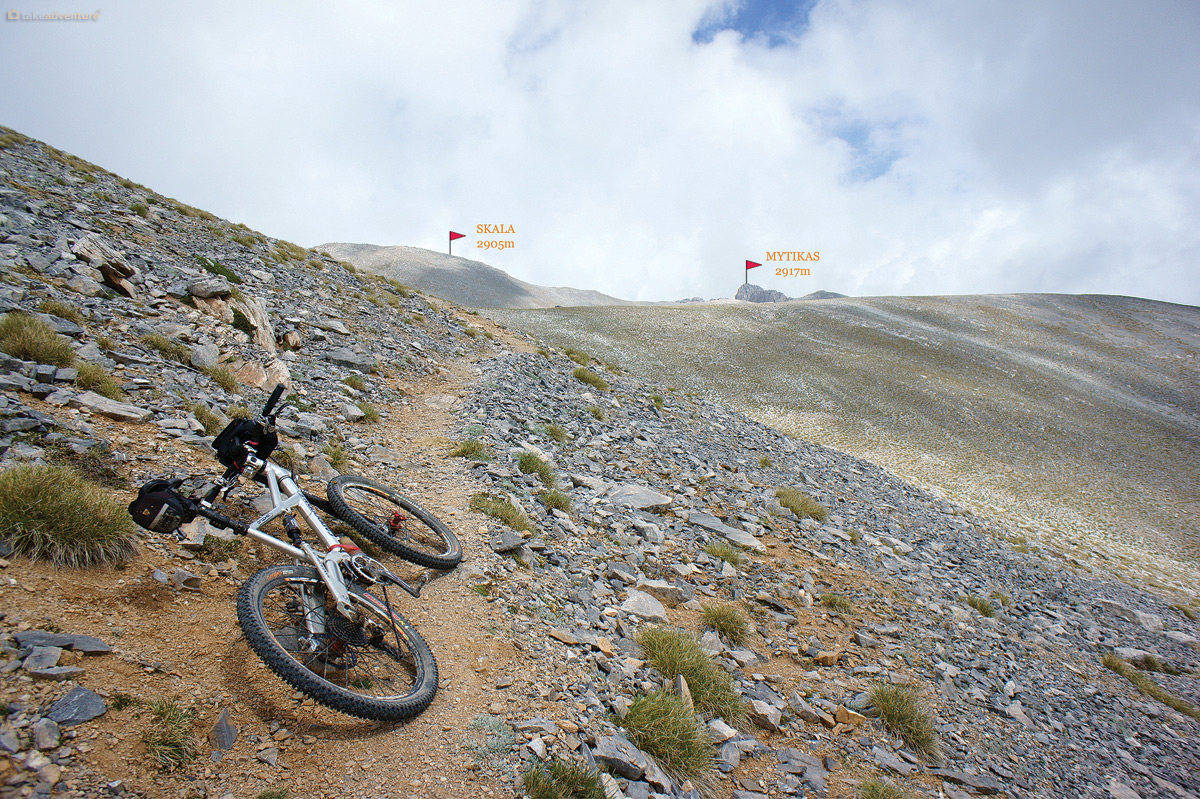 Mytikas takeadventure i left the bike at elevation of about 2840m and than hiked to skala and mytikas sciox Choice Image