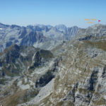 Maja e Rosit & Maja Jezercë, seen from Zla Kolata peak