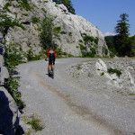 The unpaved road