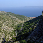 The section from Vidova Gora to Bol