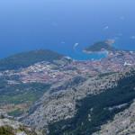 Makarska, the view from Sinjal
