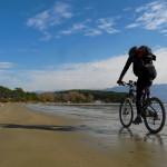 The ride on Lopar's sand beach.