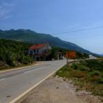 The crossroad, turn left for Prosenjak