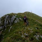 Hiking to Visočica peak