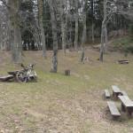 Resting place near Hunjka Hut