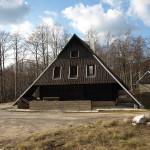 The hut at Šator mountain.