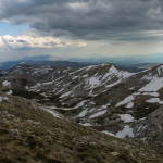 The view from the ridge of Dinara mountain