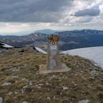 At Veliki Troglav peak