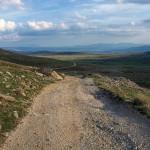 The carriageway section on Dinara mountain