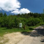 Turn left to visit Jazovka monument