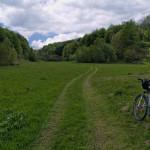 The trail to Ječmište