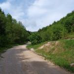 The trail to Sveta Gera