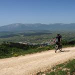The trail above Livno