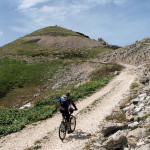 Final ascent to Vitorog peak