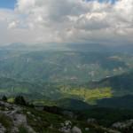 The view from Borašnica peak.
