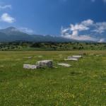 Necropolis near Tribiševo village
