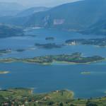 The lake Ramsko Jezero.