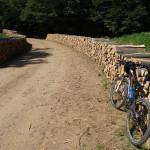 The section from Komogovina village to Zrinska Gora mountain