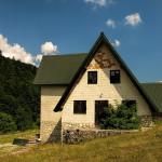 The hut in Sušica canyon