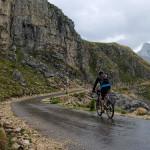 The ascent from Pišče village to the saddle.