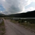 Zminica village and lake Zminičko Jezero