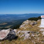 At the peak of Velika Osječenica