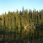 The lake Zminje Jezero