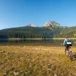 The lake Crno Jezero