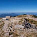 At Velika Klekovača peak