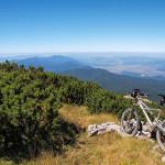 The view from Velika Klekovača peak