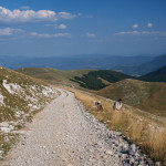 The carriageway on Bjelašnica mountain.
