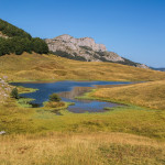 The lake Jugovo Jezero