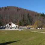The hut in Sviščaki area