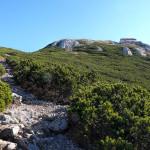 Hiking section to Veliki Snežnik peak