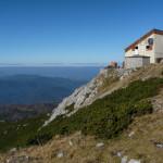 The hut at Veliki Snežnik