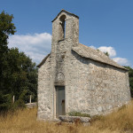 Sveti Juraj chapel next to Gornji Humac village on The Island of Brač