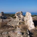The ruins of monastery above Postira