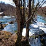 The waterfall Sastavci