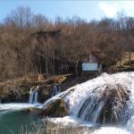 The waterfall in Šušnjari