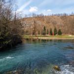 Mrežnica river in Smoljanovići