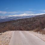 Dinara mountain, the view from Kamešnica.