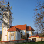 The church in Belec village