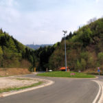 The section above Gornja Bistra