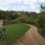 The carriageway section to Slani Potok stream