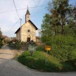 Sv. Fabijan church in Slani Potok village