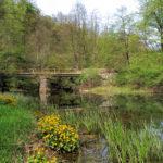 The bridge over Bistrac stream