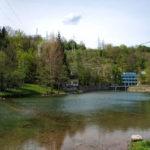 The river Dobra near Electric Power station in Gojak village