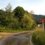 The paved section on the way back to Stubičke Toplice
