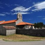 The church Majka Božja near Vrana village