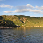 Merag port on The Island of Cres